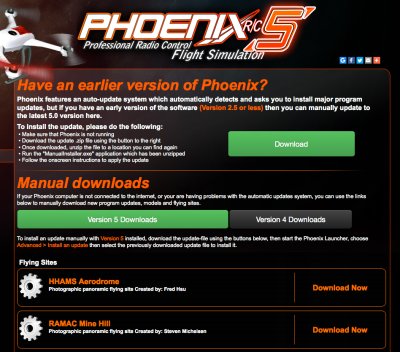 Phoenix RC Download Page