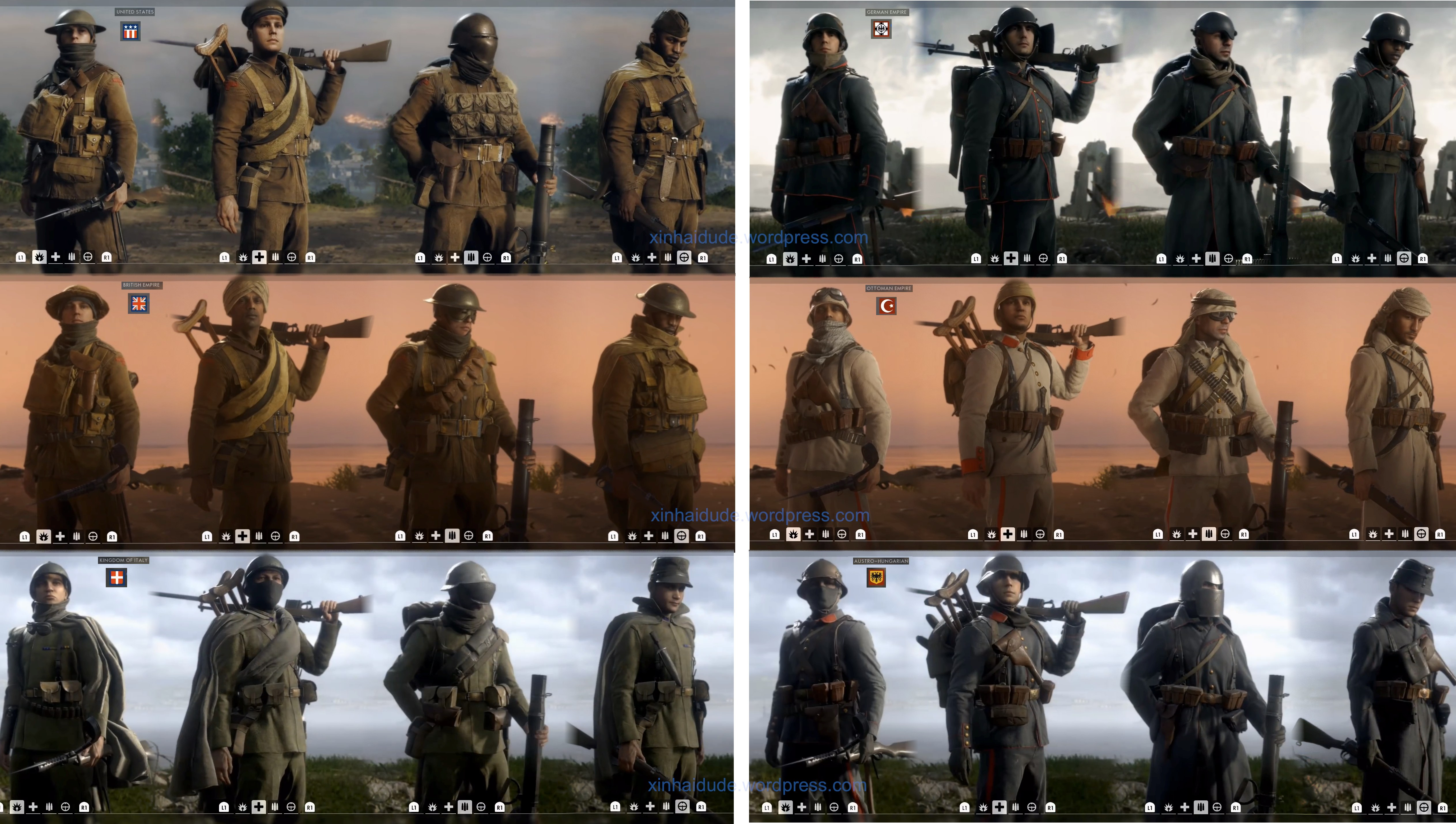 This is how each classes will look in russian empire army - Battlefield 1 french soldier ...