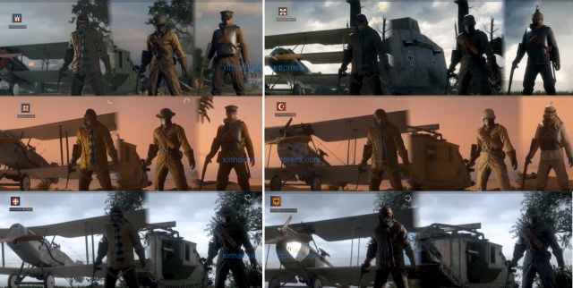 Battlefield 1 Vehicle Soldiers from all Factions. Tell friends from foes when playing the hardcore mode.