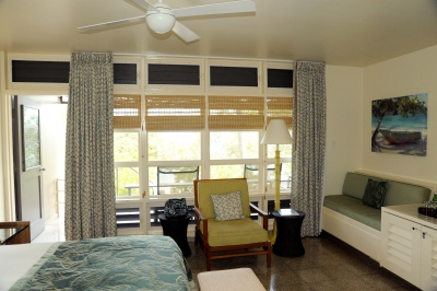 Beach front rooms by Turtle Bay