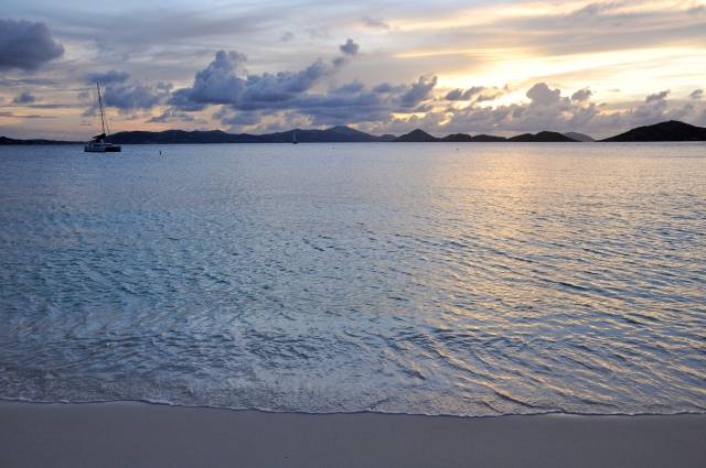 Sunset at Scott Beach