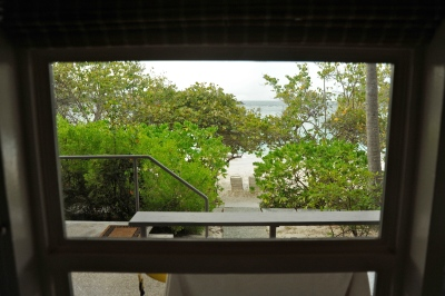 View of Turtle Bay Beach from the room