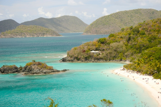 Trunk Bay on St. John
