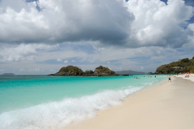 Trunk Bay on Saint John, U.S. Virgin Islands
