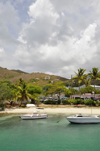 Cruz Bay on St. John