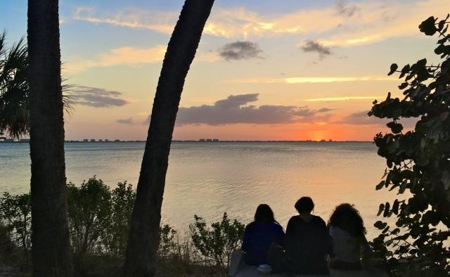 Sunset at Indian Beach