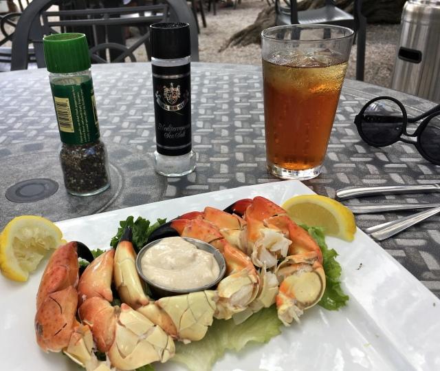 Floridian Stone Crab at Mar Vista