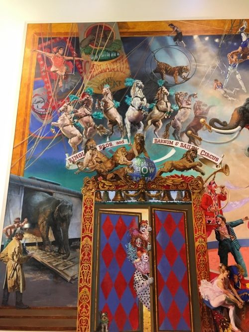 Mural at the Tibbals Learning Center at The Ringling