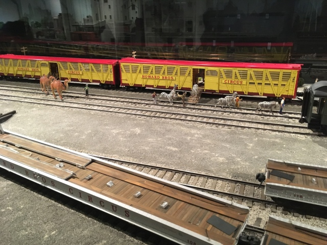 Ringling Museum Scale Model Circus Unloading Animals