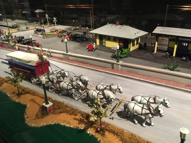 Ringling Museum Scale Model Circus Coming into Town