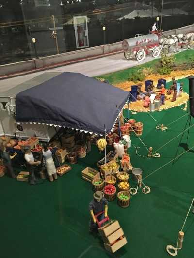 Ringling Museum Scale Model Circus Food Preparations