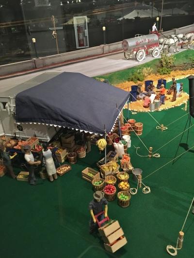 Ringling Museum Scale Model Circus Food Preparations