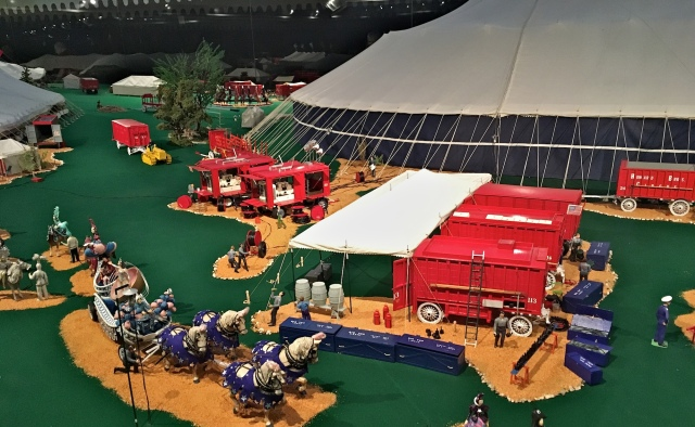 Ringling Museum Scale Model Circus Preparations