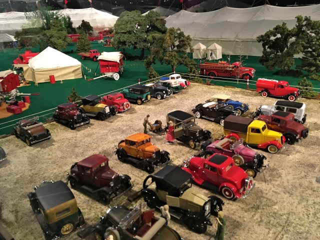 Ringling Museum Scale Model Circus Parking Lot