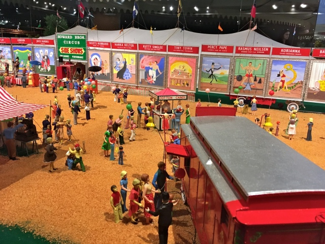 Ringling Museum Scale Model Circus Side Shows