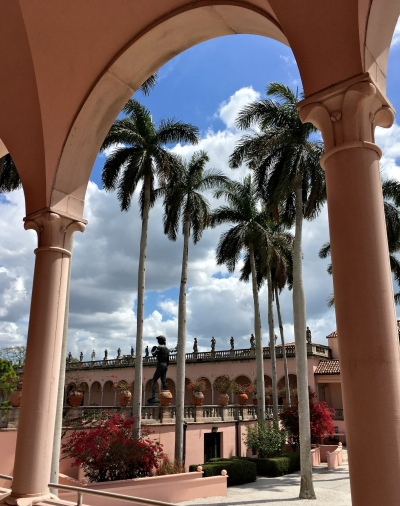 Ringling Museum Statue of David seen from the Searing Wing
