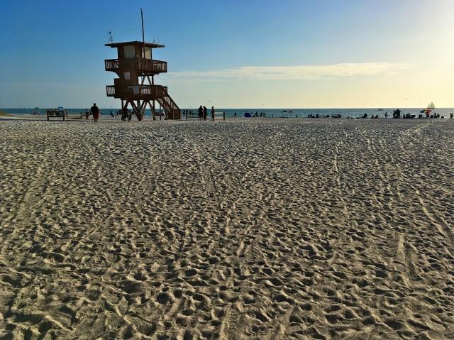 Coquina Beach Lifeguard Station