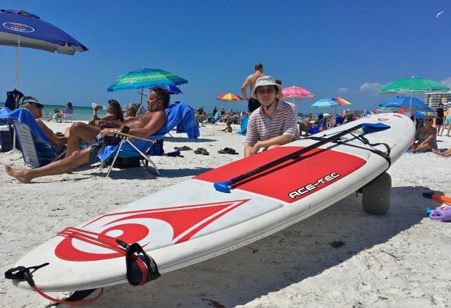 Crescent Beach Paddleboarding