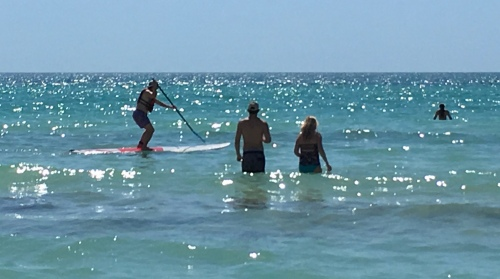 Crescent Beach Paddleboarding