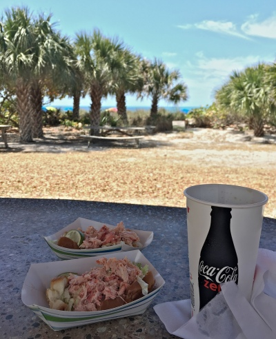 Lobster Roll at Lido Beach Pavilion