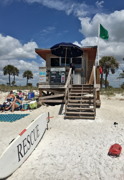 Lido Key Beach Lifeguard Station