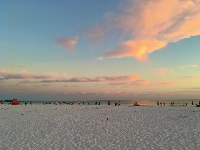 Twilight at Siesta Beach