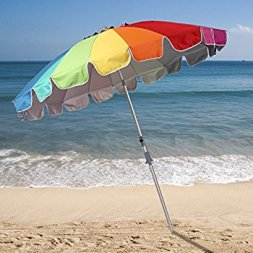 Avoid traditional beach umbrella