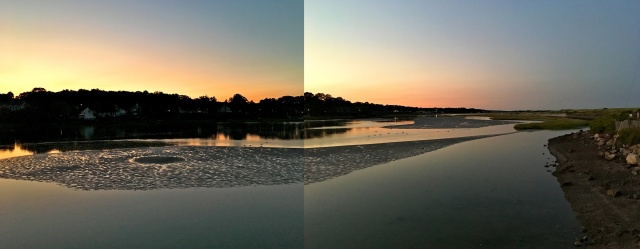 Tidal Suites at the Norseman Resort - view of the Ogunquit River at mid tide
