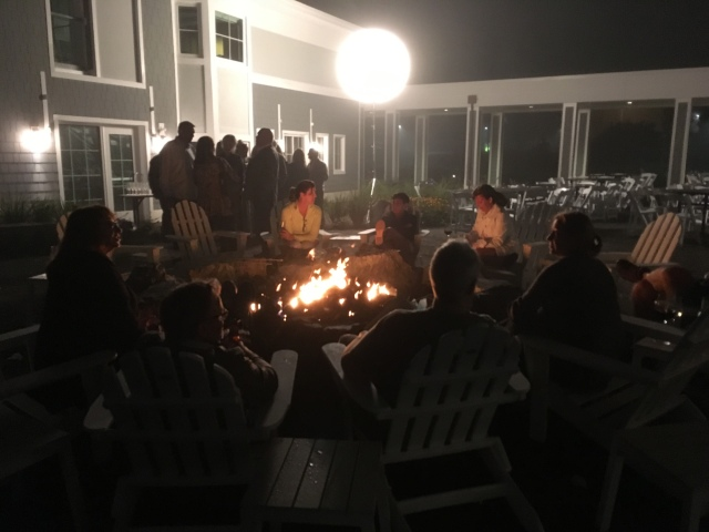 Private party at the Firepit Terrace