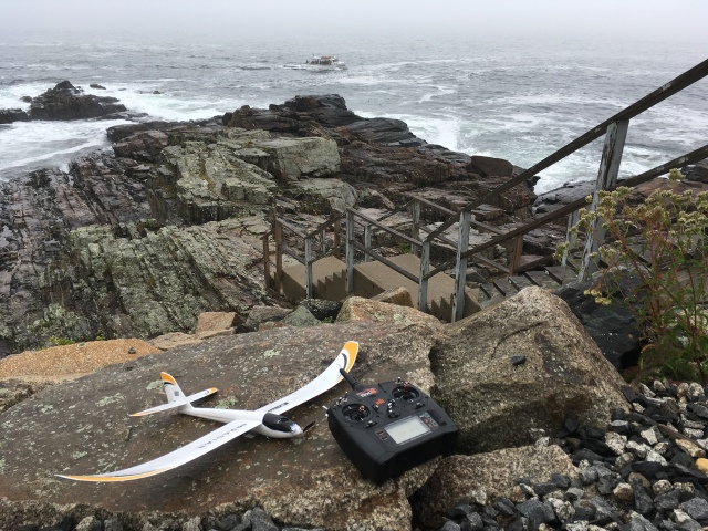 Droning at Cliff House, Sept 2017, UMX Radian