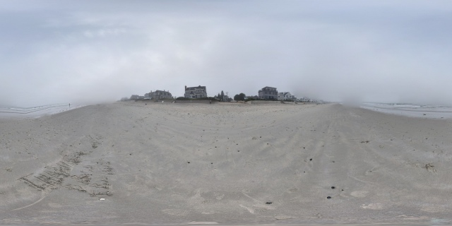 360° panorama of a small section of the Drakes Island Beach