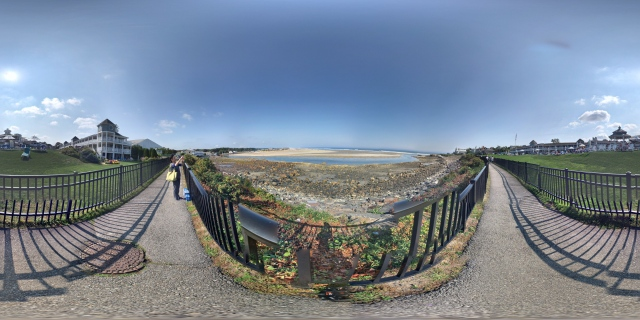 360° panorama from the Marginal Way