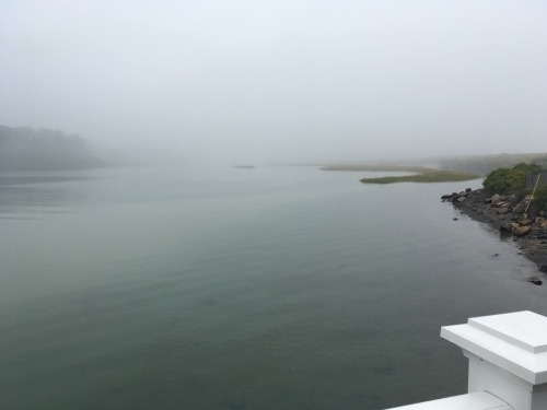 Tidal Suites at the Norseman Resort - view of the Ogunquit River at high tide