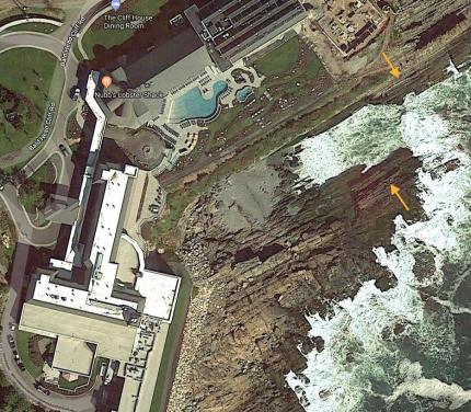 Google Maps Cliff House Cliff and Rock Formation