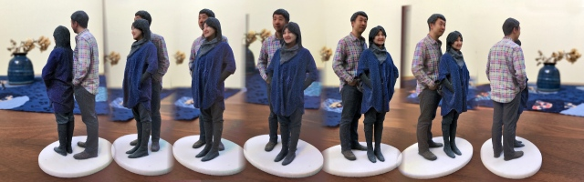 Madurodam Shapeways 3D selfie in 1:20 scale after retouching