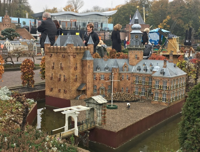 1:25 scale model of Kasteel Nijenrode at Madurodam