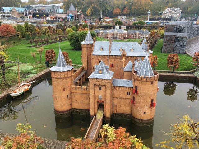 1:25 scale model of Muiden Castle at Madurodam