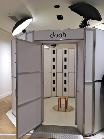 Doob NY SOHO 3D selfie photo booth