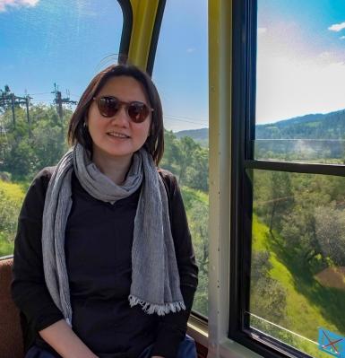 Gondola Lift - Sterling Vineyards Napa Valley