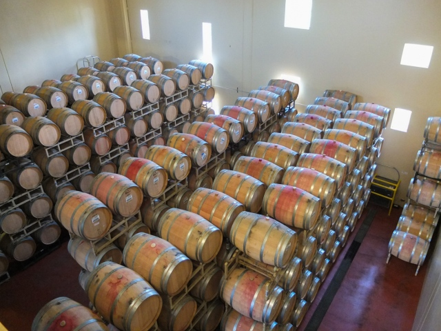 Sterling Vineyards - Wine Barrels - Napa Valley