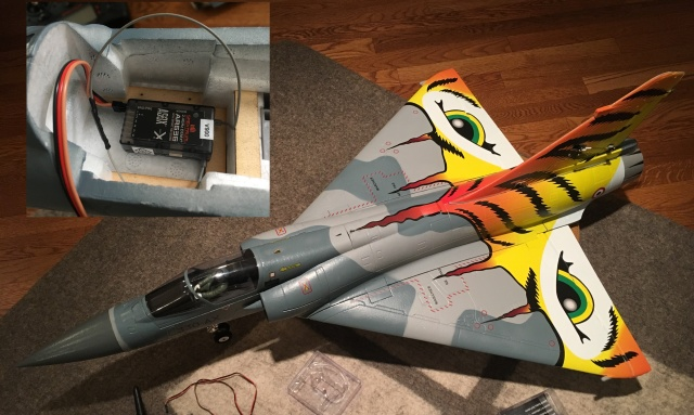 I wanted to teach a locked-down AR636 with SAFE, to fly the Freewing Mirage 2000 Tiger Meet, a delta wing