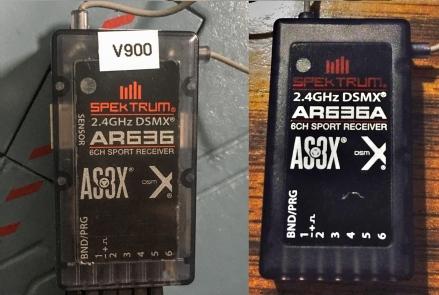 Spektrum AR636 vs AR636A - 6CH Sport Receiver