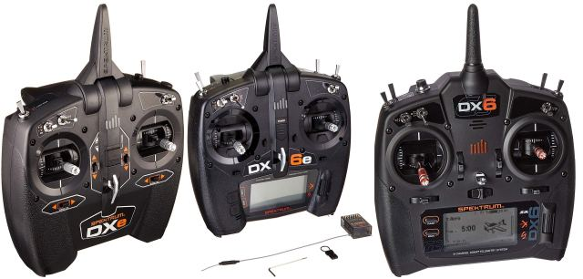 Spektrum DXe, DX6e and DX6