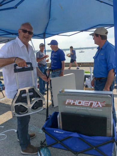 Packing up as HarborFest draws to an end