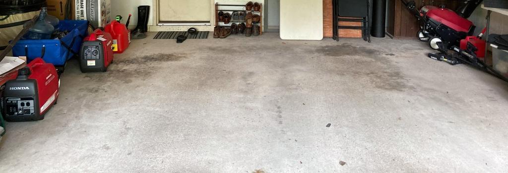 Original concrete floor