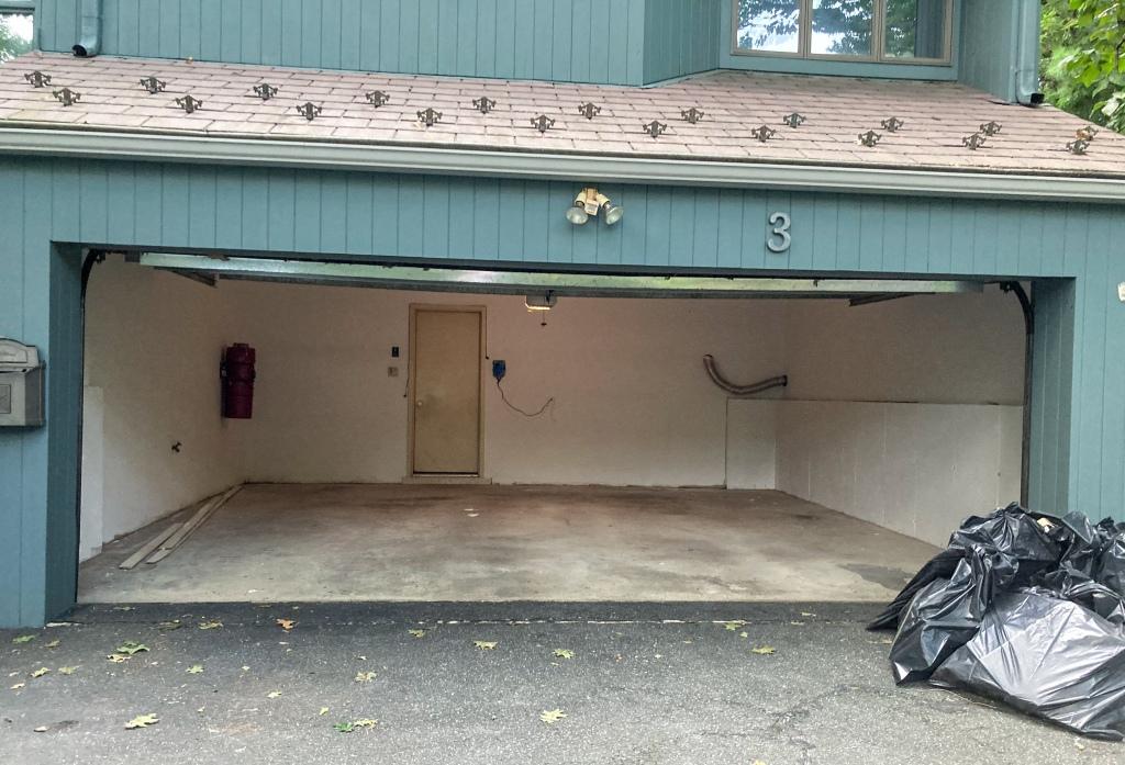 Emptied Garage