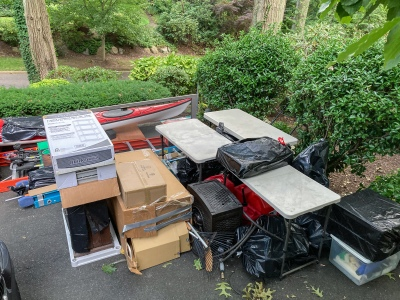 Moving stuff out of the garage