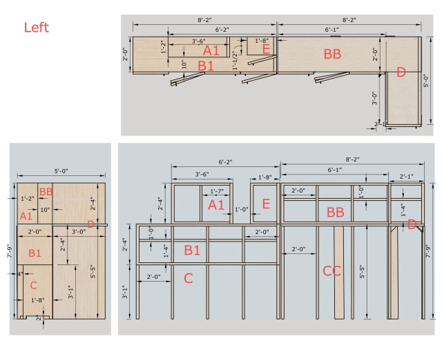 Dimension annotations in LayOut