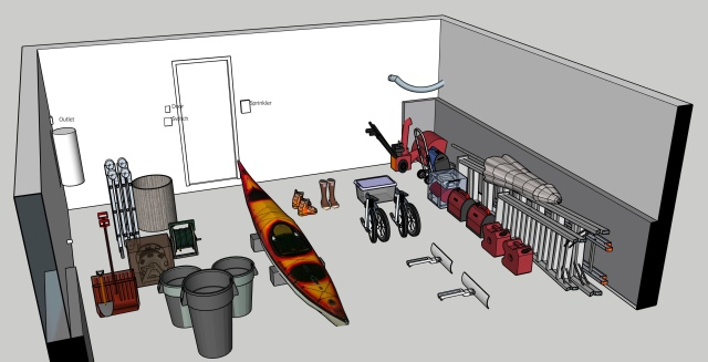 Key items to fit in the garage