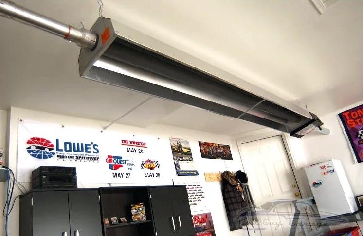 75,000 BTU garage heater